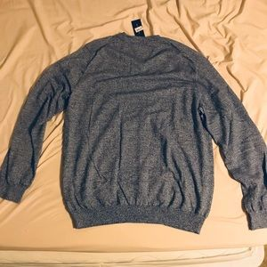 Tommy Hilfiger Sweaters - Bluish gray blend tommy hilfiger cardigan XXL